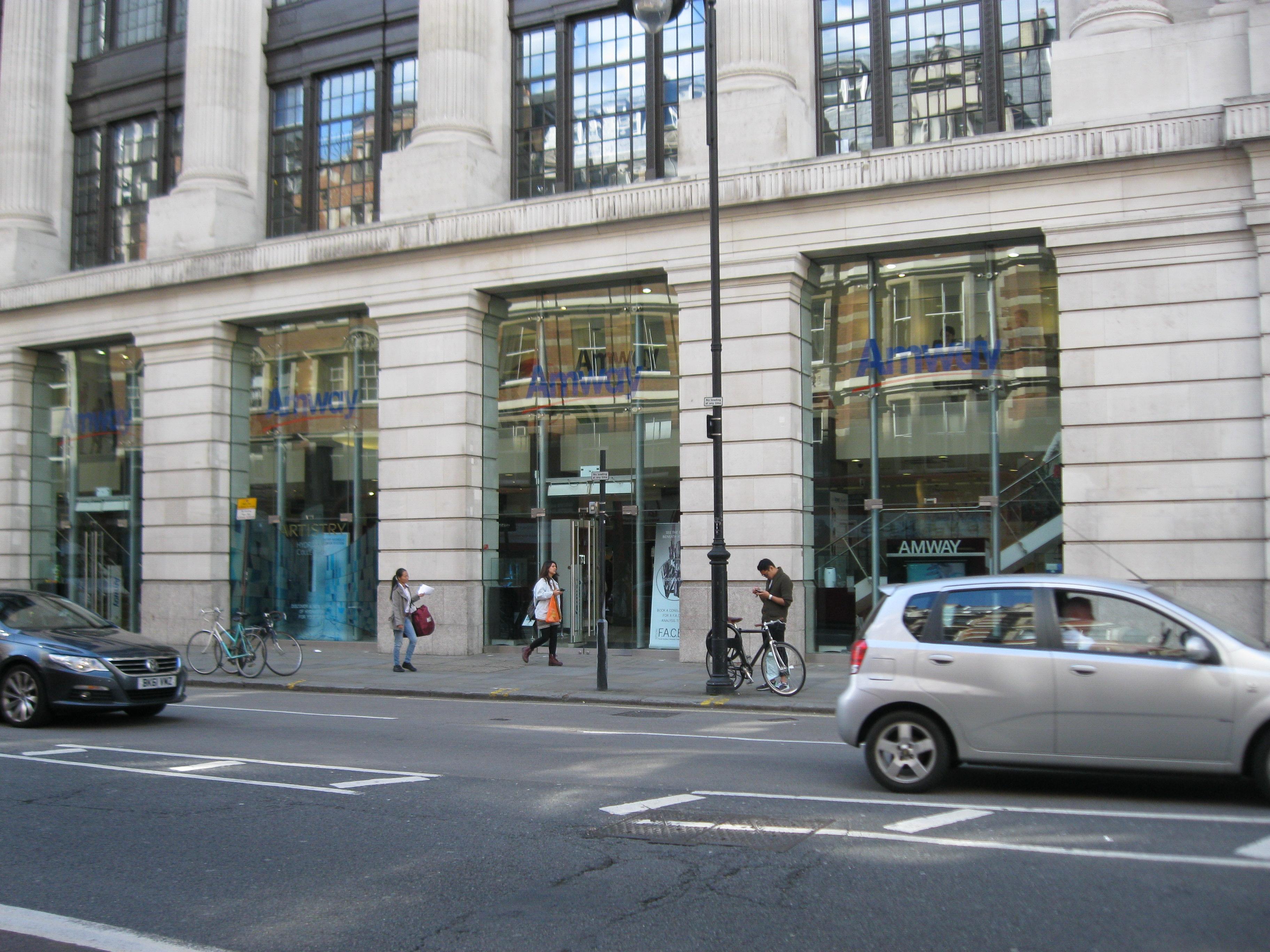 Odwiedziłam sklep AMWAY w Londynie